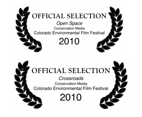 Conservation Media receives two Official Selections at the 2010 Colorado Environmental Film Festival.