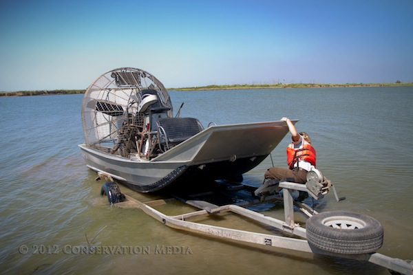 Swamp Boat Texas, Conservation Media, Jeremy R. Roberts
